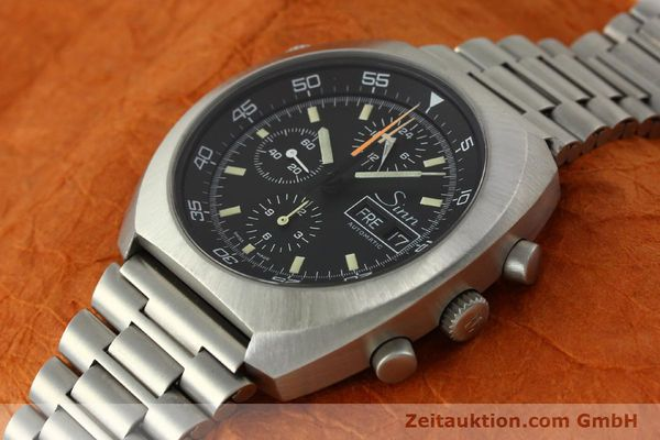 Used luxury watch Sinn D1 Mission chronograph steel automatic Kal. 5100  | 150732 01
