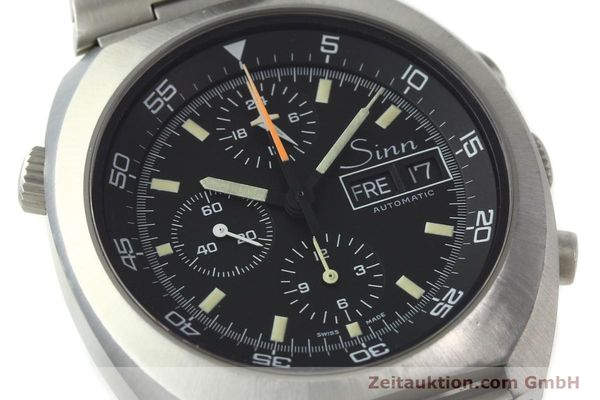 Used luxury watch Sinn D1 Mission chronograph steel automatic Kal. 5100  | 150732 02
