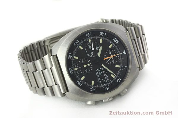 Used luxury watch Sinn D1 Mission chronograph steel automatic Kal. 5100  | 150732 03