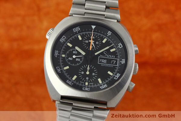 Used luxury watch Sinn D1 Mission chronograph steel automatic Kal. 5100  | 150732 04
