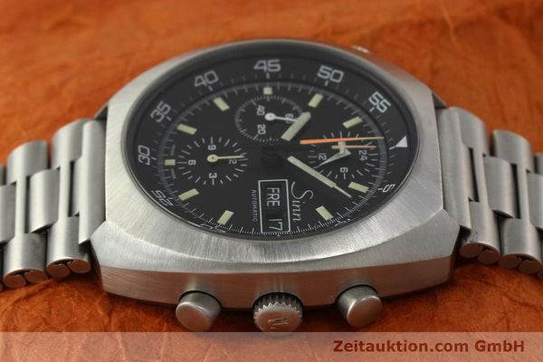 Used luxury watch Sinn D1 Mission chronograph steel automatic Kal. 5100  | 150732 05