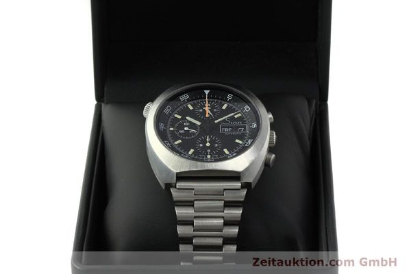 Used luxury watch Sinn D1 Mission chronograph steel automatic Kal. 5100  | 150732 07