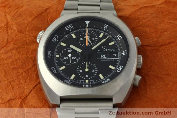 Used luxury watch Sinn D1 Mission chronograph steel automatic Kal. 5100  | 150732 15
