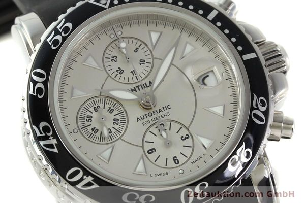 Used luxury watch Montblanc Sport Chronograph chronograph steel automatic Kal. 4810501 ETA 7750 Ref. 7034  | 150739 02