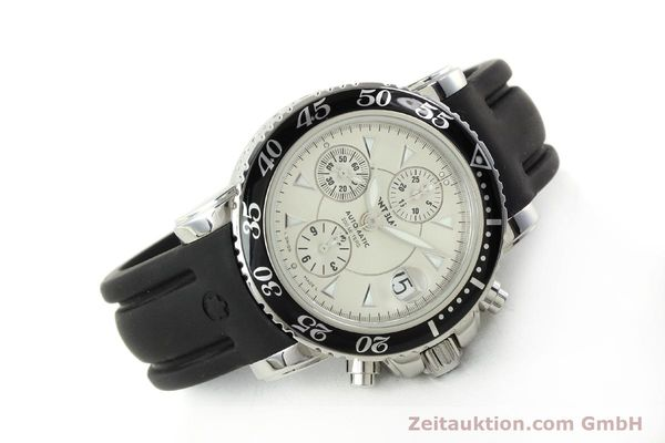 Used luxury watch Montblanc Sport Chronograph chronograph steel automatic Kal. 4810501 ETA 7750 Ref. 7034  | 150739 03