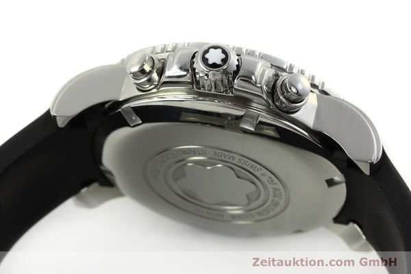 Used luxury watch Montblanc Sport Chronograph chronograph steel automatic Kal. 4810501 ETA 7750 Ref. 7034  | 150739 11