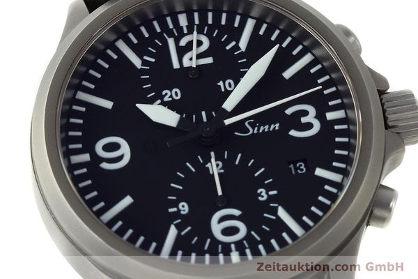 Used luxury watch Sinn 756 chronograph steel automatic Kal. ETA 7750 Ref. 756.2766  | 150741 02