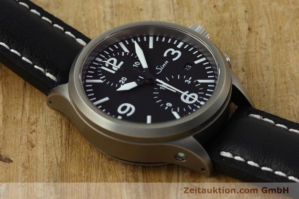 Used luxury watch Sinn 756 chronograph steel automatic Kal. ETA 7750 Ref. 756.2766  | 150741 14