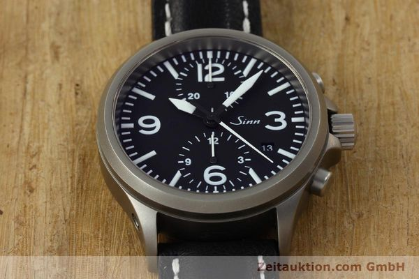 Used luxury watch Sinn 756 chronograph steel automatic Kal. ETA 7750 Ref. 756.2766  | 150741 15