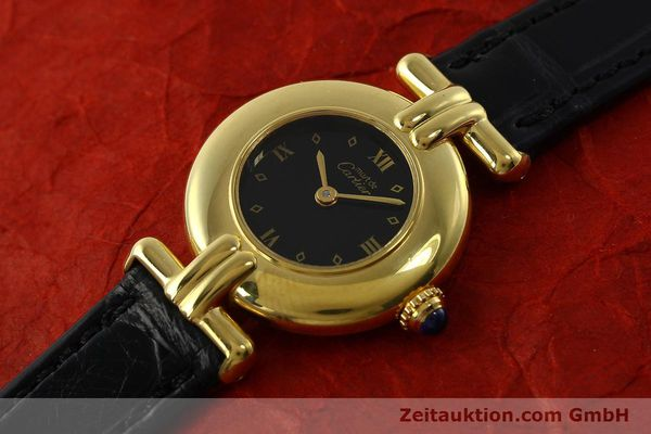 Used luxury watch Cartier Vermeil silver-gilt quartz Kal. 90  | 150742 01