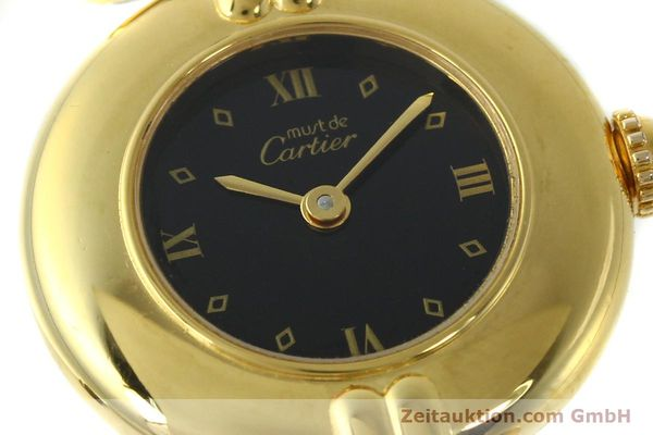 Used luxury watch Cartier Vermeil silver-gilt quartz Kal. 90  | 150742 02