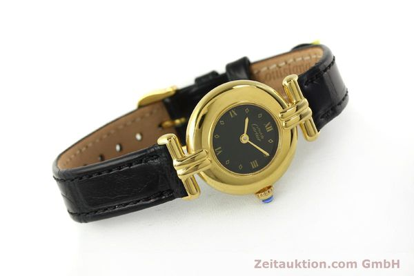 Used luxury watch Cartier Vermeil silver-gilt quartz Kal. 90  | 150742 03