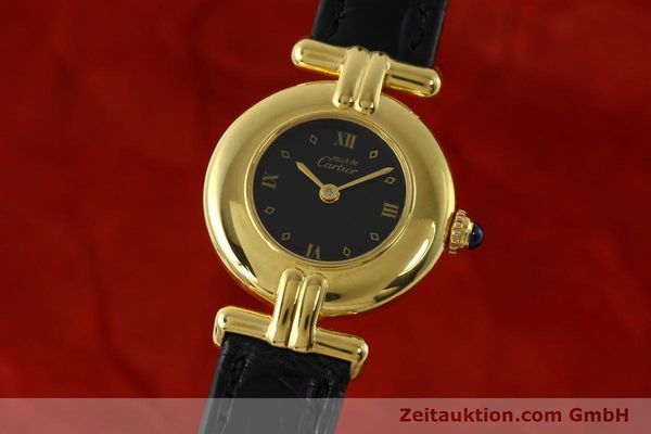 Used luxury watch Cartier Vermeil silver-gilt quartz Kal. 90  | 150742 04