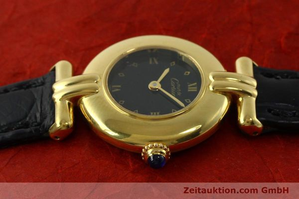 Used luxury watch Cartier Vermeil silver-gilt quartz Kal. 90  | 150742 05