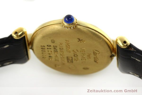 Used luxury watch Cartier Vermeil silver-gilt quartz Kal. 90  | 150742 08