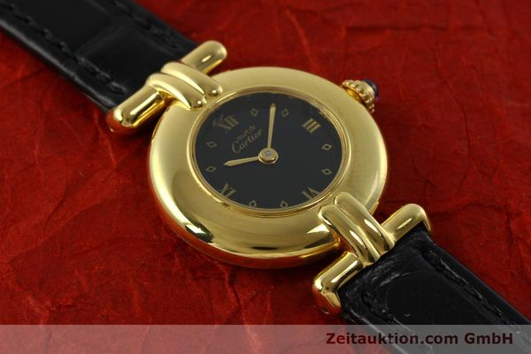 Used luxury watch Cartier Vermeil silver-gilt quartz Kal. 90  | 150742 12