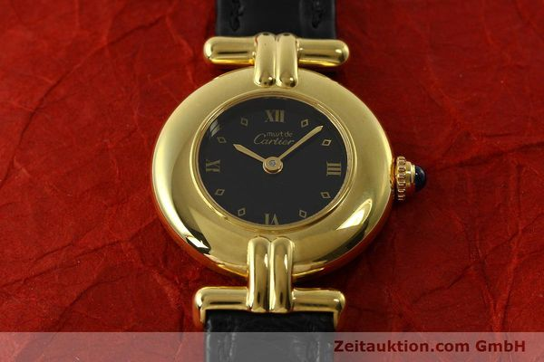 Used luxury watch Cartier Vermeil silver-gilt quartz Kal. 90  | 150742 13