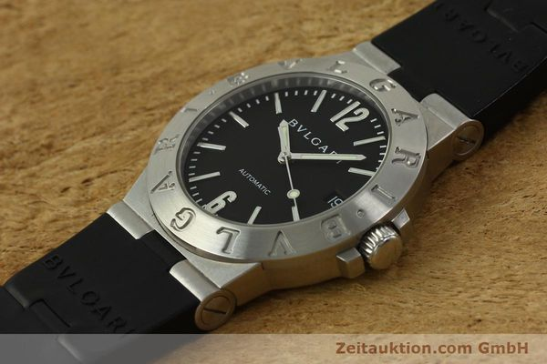 Used luxury watch Bvlgari Diagono steel automatic Kal. TEEA 220 Ref. LCV35S  | 150744 01