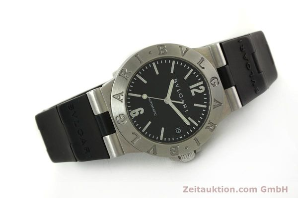 Used luxury watch Bvlgari Diagono steel automatic Kal. TEEA 220 Ref. LCV35S  | 150744 03