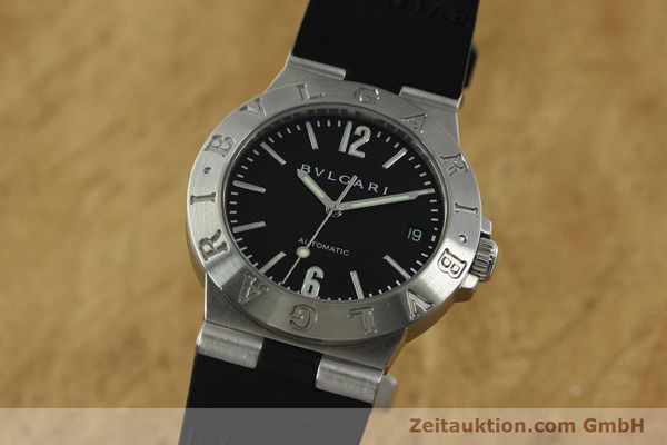 Used luxury watch Bvlgari Diagono steel automatic Kal. TEEA 220 Ref. LCV35S  | 150744 04