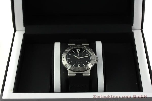 Used luxury watch Bvlgari Diagono steel automatic Kal. TEEA 220 Ref. LCV35S  | 150744 07