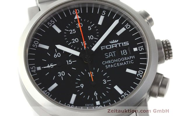 Used luxury watch Fortis Spacematic chronograph steel automatic Kal. ETA 7750 Ref. 625.22.141  | 150755 02