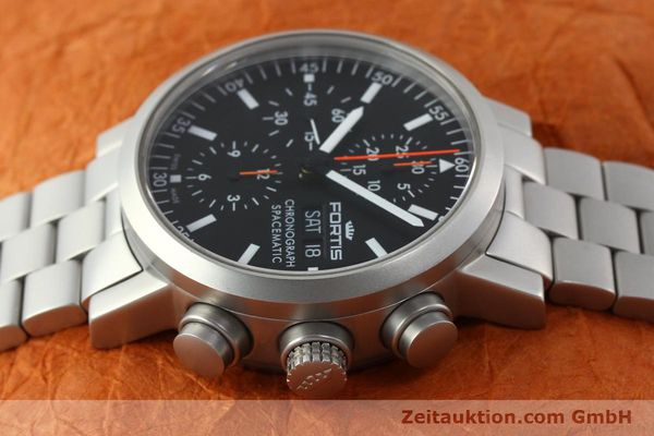 Used luxury watch Fortis Spacematic chronograph steel automatic Kal. ETA 7750 Ref. 625.22.141  | 150755 05
