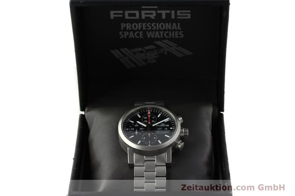 Used luxury watch Fortis Spacematic chronograph steel automatic Kal. ETA 7750 Ref. 625.22.141  | 150755 07
