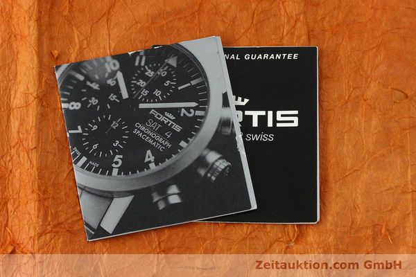 Used luxury watch Fortis Spacematic chronograph steel automatic Kal. ETA 7750 Ref. 625.22.141  | 150755 08