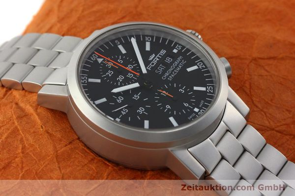 Used luxury watch Fortis Spacematic chronograph steel automatic Kal. ETA 7750 Ref. 625.22.141  | 150755 16