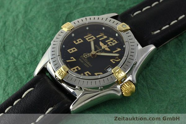 Used luxury watch Breitling Callistino steel / gold quartz Kal. B52 ETA 956112 Ref. B52345  | 150756 01