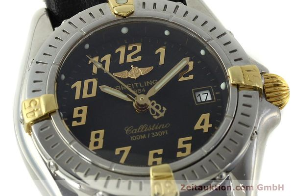 Used luxury watch Breitling Callistino steel / gold quartz Kal. B52 ETA 956112 Ref. B52345  | 150756 02
