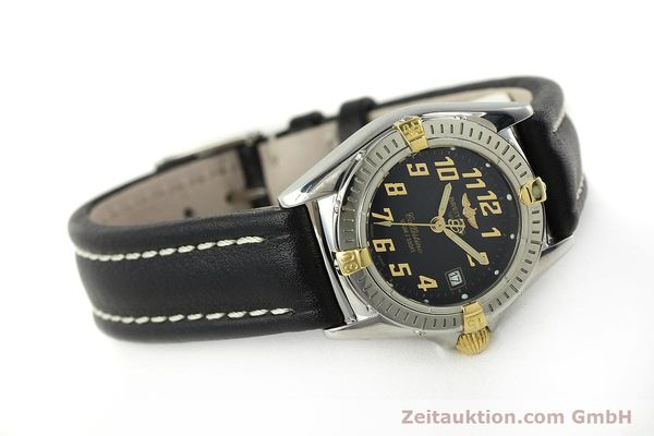 Used luxury watch Breitling Callistino steel / gold quartz Kal. B52 ETA 956112 Ref. B52345  | 150756 03