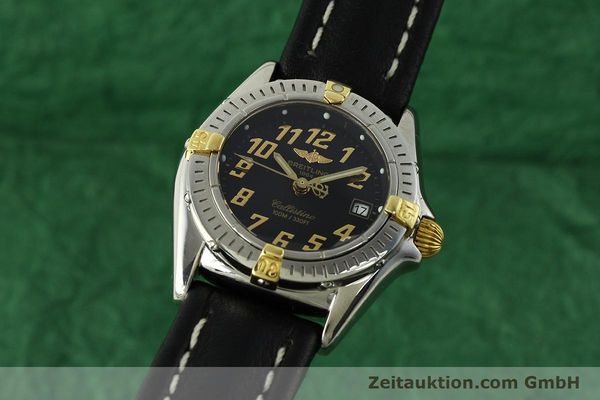 Used luxury watch Breitling Callistino steel / gold quartz Kal. B52 ETA 956112 Ref. B52345  | 150756 04