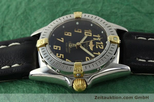 Used luxury watch Breitling Callistino steel / gold quartz Kal. B52 ETA 956112 Ref. B52345  | 150756 05