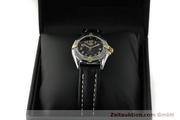Used luxury watch Breitling Callistino steel / gold quartz Kal. B52 ETA 956112 Ref. B52345  | 150756 07
