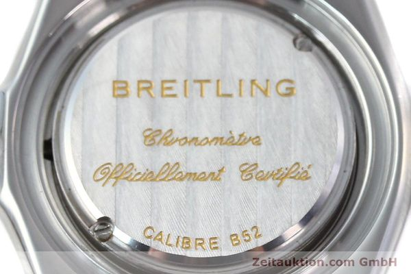 Used luxury watch Breitling Callistino steel / gold quartz Kal. B52 ETA 956112 Ref. B52345  | 150756 10