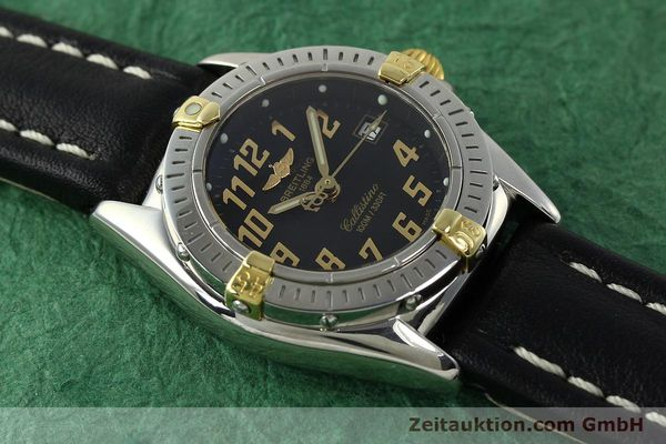 Used luxury watch Breitling Callistino steel / gold quartz Kal. B52 ETA 956112 Ref. B52345  | 150756 13