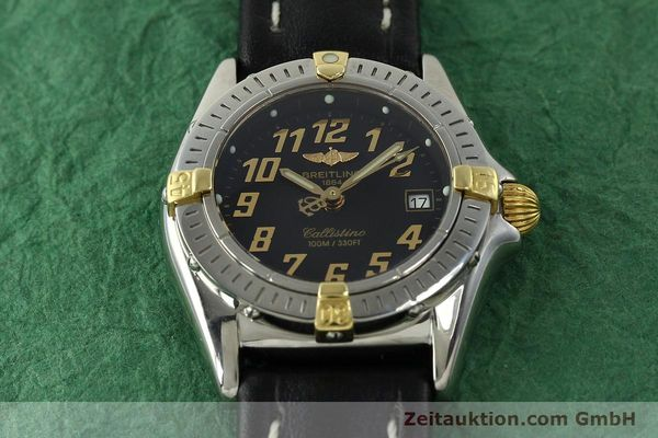 Used luxury watch Breitling Callistino steel / gold quartz Kal. B52 ETA 956112 Ref. B52345  | 150756 14