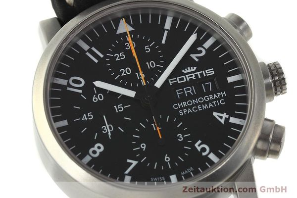 Used luxury watch Fortis Spacematic chronograph steel automatic Kal. ETA 7750 Ref. 625.22.141  | 150759 02
