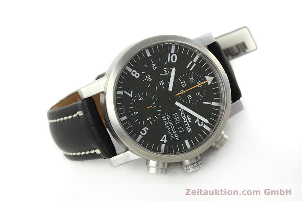 Used luxury watch Fortis Spacematic chronograph steel automatic Kal. ETA 7750 Ref. 625.22.141  | 150759 03