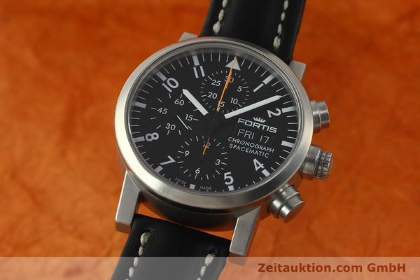 Used luxury watch Fortis Spacematic chronograph steel automatic Kal. ETA 7750 Ref. 625.22.141  | 150759 04