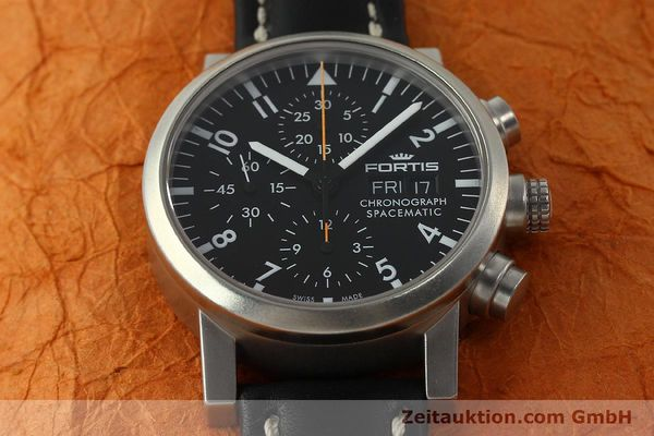 Used luxury watch Fortis Spacematic chronograph steel automatic Kal. ETA 7750 Ref. 625.22.141  | 150759 16