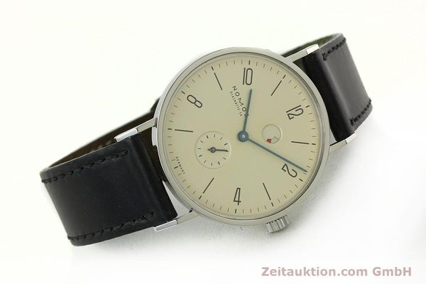 Used luxury watch Nomos Tangente steel manual winding Kal. Gamma 85 LIMITED EDITION | 150764 03