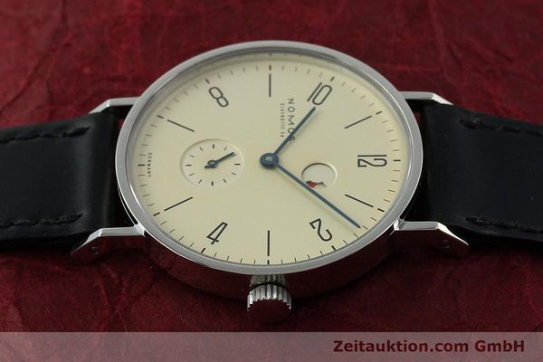 Used luxury watch Nomos Tangente steel manual winding Kal. Gamma 85 LIMITED EDITION | 150764 05