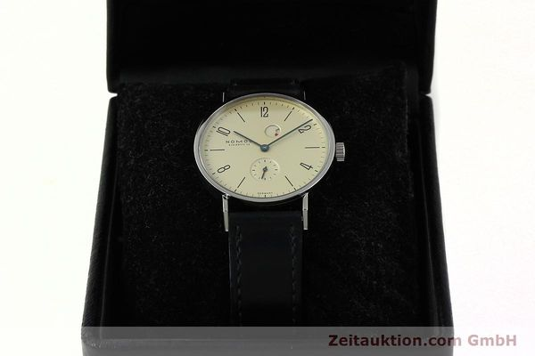 Used luxury watch Nomos Tangente steel manual winding Kal. Gamma 85 LIMITED EDITION | 150764 07