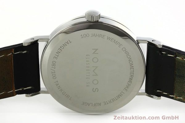Used luxury watch Nomos Tangente steel manual winding Kal. Gamma 85 LIMITED EDITION | 150764 09