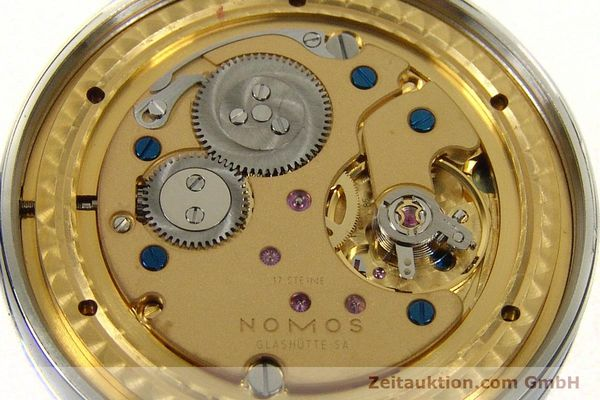 Used luxury watch Nomos Tangente steel manual winding Kal. Gamma 85 LIMITED EDITION | 150764 10