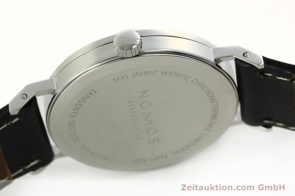 Used luxury watch Nomos Tangente steel manual winding Kal. Gamma 85 LIMITED EDITION | 150764 11