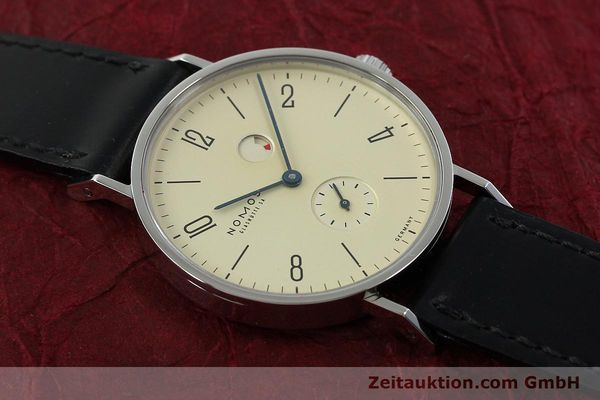Used luxury watch Nomos Tangente steel manual winding Kal. Gamma 85 LIMITED EDITION | 150764 15